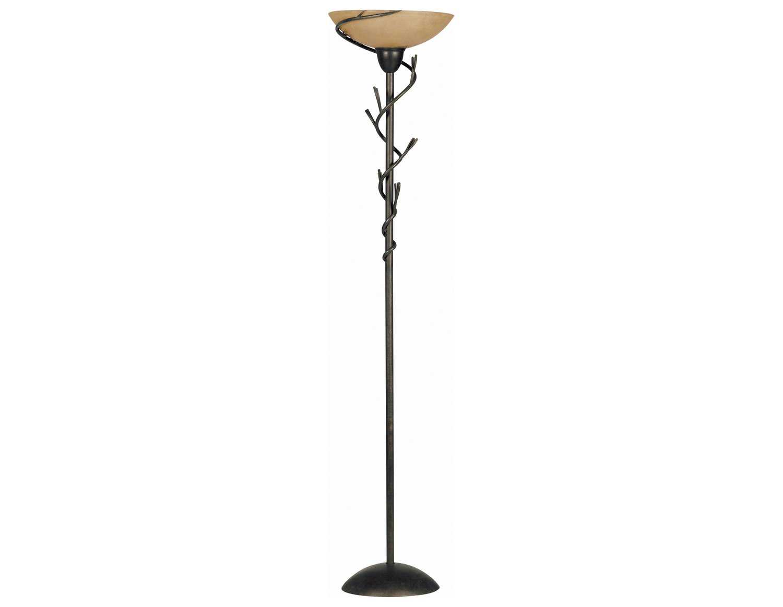 Kenroy home twigs bronze torchiere floor lamp ke309021brz for Floor lamp with twigs