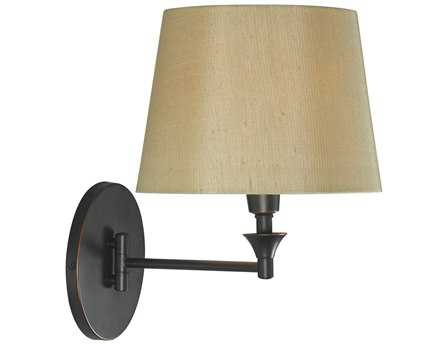 Kenroy Home Martin Oil Rubbed Bronze Wall Swing Arm Lamp