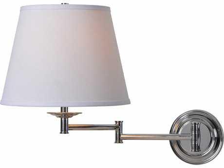 Kenroy Home Architect Series Chrome Swing Arm Light