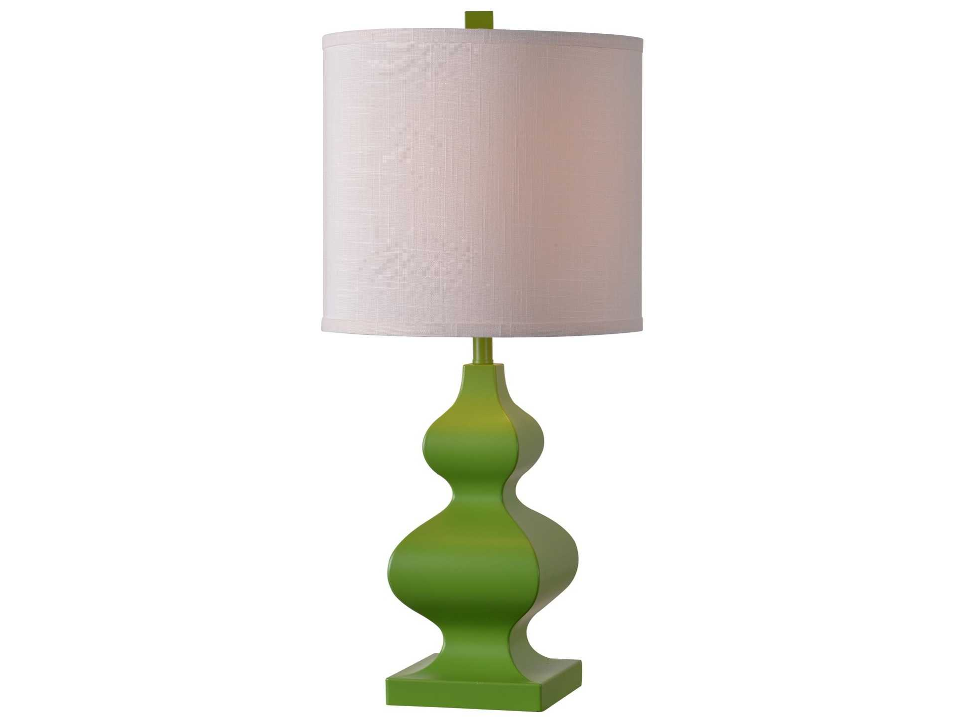 Kenroy Home Milton Lime Green Table Lamp