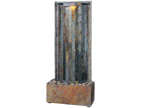 Kenroy Home Waterwall Natural Slate Table & Wall Fountain