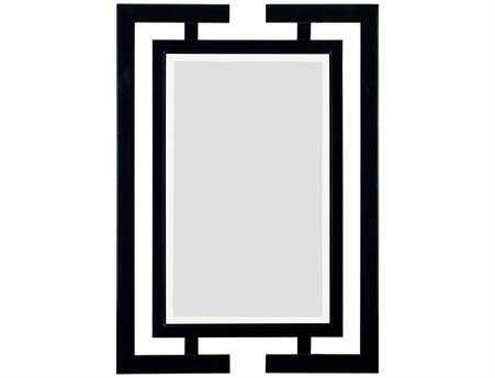 Kenroy Home Shinto 29 x 41 Gloss Black Wall Mirror