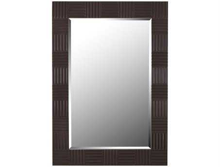 Kenroy Home Flutes 28 x 40 Wood Grain Wall Mirror