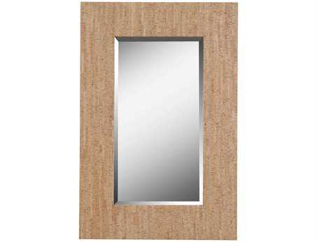 Kenroy Home Corkage 28 x 42 Natural Cork Wall Mirror