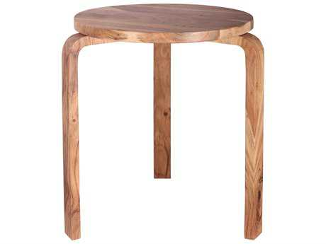 Kenroy Home Stylus Natural Sanded 18'' Round Accent Table