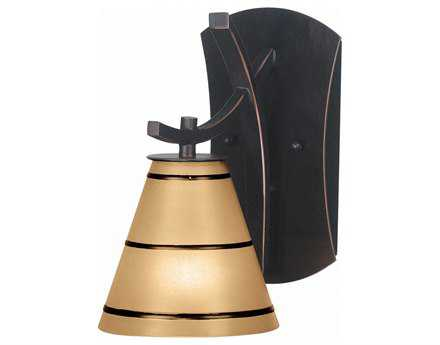 Kenroy Home Wright Oil Rubbed Bronze Wall Sconce