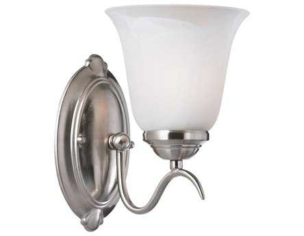 Kenroy Home Medusa Brushed Steel Wall Sconce