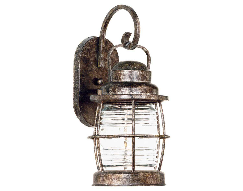 Kenroy Home Beacon Flint Medium Outdoor Wall Lantern
