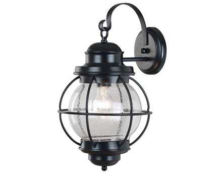 Kenroy Home Hatteras Black Large Outdoor Wall Lantern