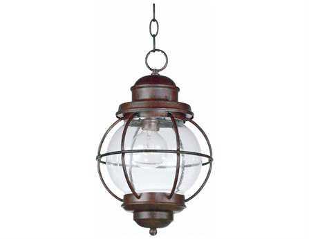 Kenroy Home Hatteras Gilded Copper Hanging Lantern