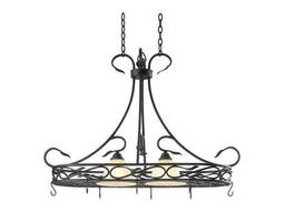 Kenroy Home Countryside Royal Bronze Two-Light Pot Rack