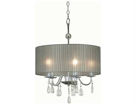 Kenroy Home Arpeggio Chrome Five-Light Pendant