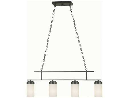 Kenroy Home Toronto Satin Bronze Four-Light Island Light