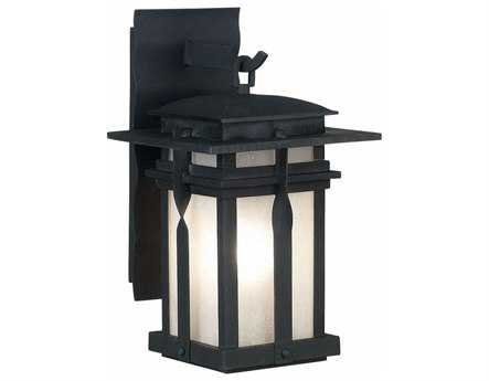 Kenroy Home Carrington Black Large Outdoor Wall Lantern