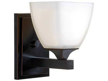 Kenroy Home Helix Oil Rubbed Bronze Wall Sconce