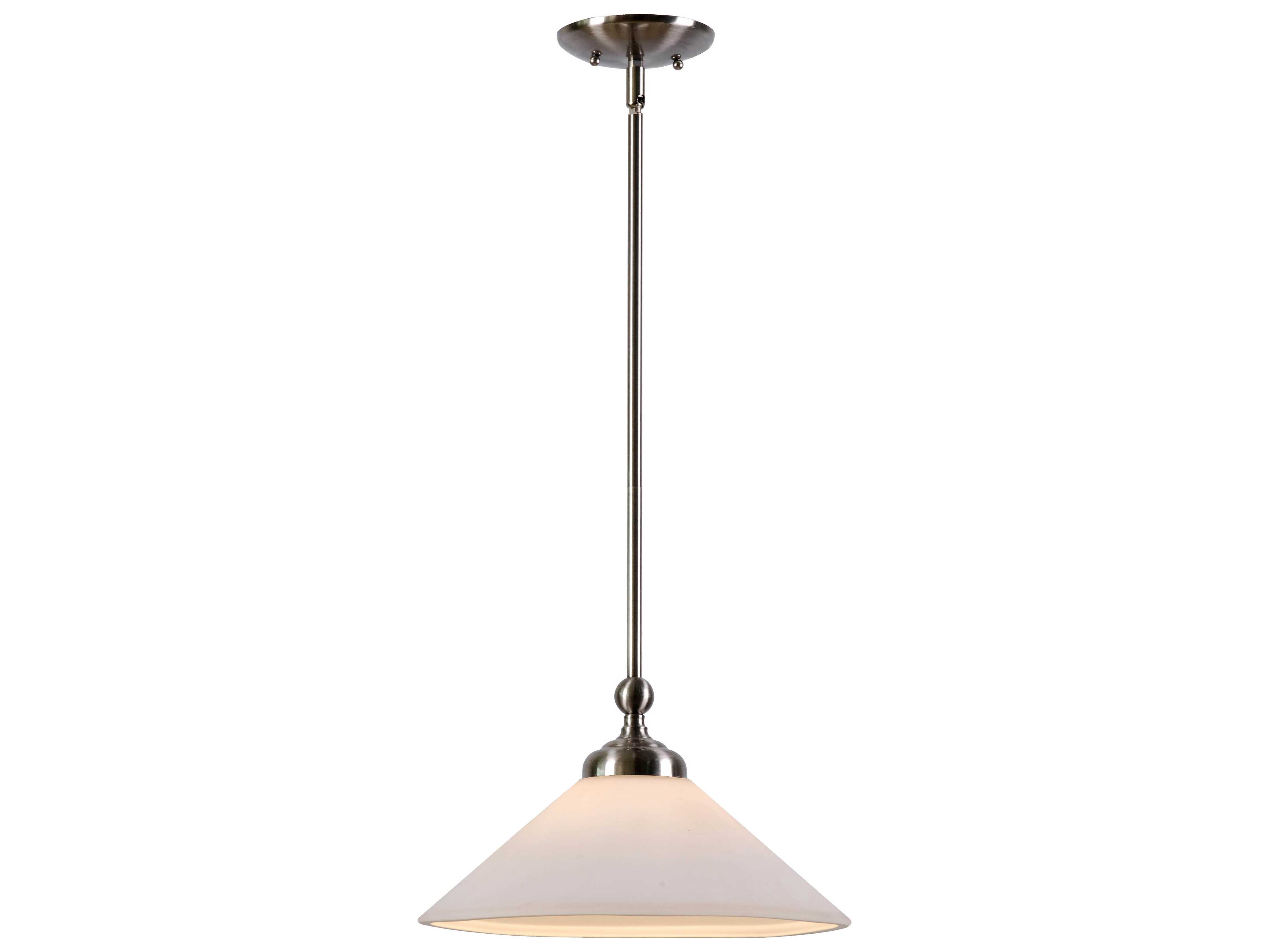Kenroy home conical brushed steel 13 wide pendant ceiling light kenroy home conical brushed steel 13 wide pendant ceiling light aloadofball Images
