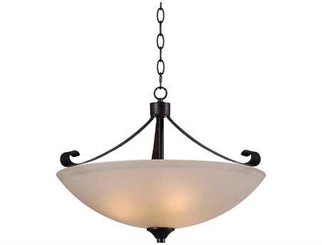 Kenroy Home Alto Chocolate Caramel Three-Light Pendant