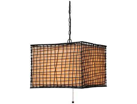 Kenroy Home Trellis Bronze Outdoor Pendant