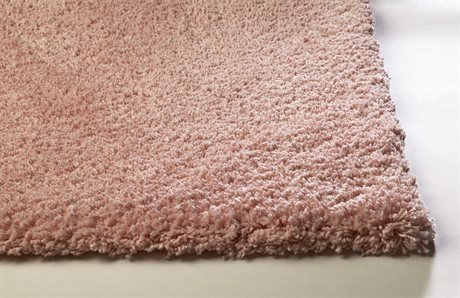 KAS Rugs Bliss Rose Pink Area Rug