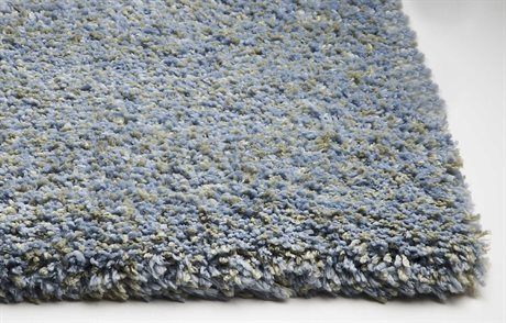 KAS Rugs Bliss Blue Heather Area Rug