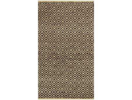 KAS Rugs Izteca Mocha Diamonds Area Rug