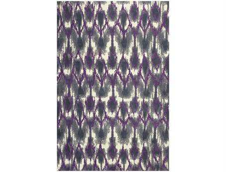 KAS Rugs Allure Grey & Purple Horizon Area Rug