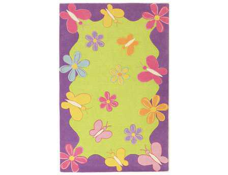KAS Rugs Kidding Around Springtime Fun Area Rug