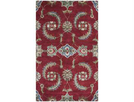 KAS Rugs Florence Ruby Allover Mahal Area Rug
