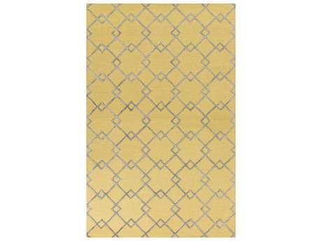 KAS Rugs Impressions Gold & Grey Rectangular Area Rug