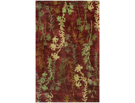 KAS Rugs Chanteuse Rust Serenity Area Rug