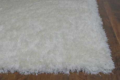 KAS Rugs Fina Ivory Silky Shag Area Rug