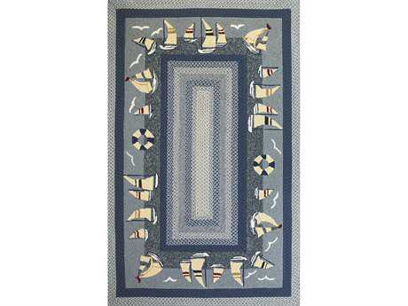 KAS Rugs Fairfax Sailboats Area Rug