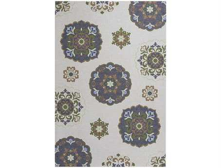 KAS Rugs Horizon Natural Mosaic Area Rug