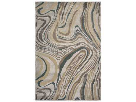 KAS Rugs Donny Osmond Home Timeless Silver Rectangular Area Rug