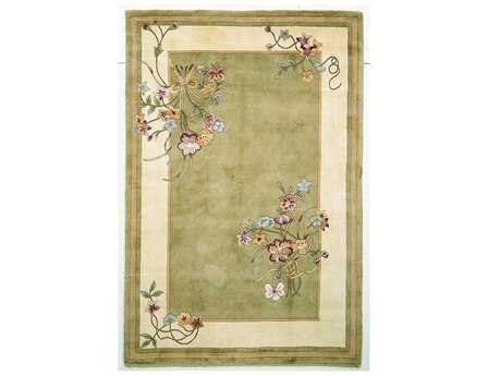 KAS Rugs Ruby Sage Bouquet Area Rug