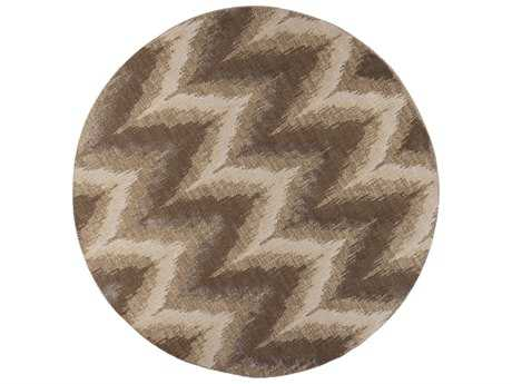 KAS Rugs Donny Osmond Home Timeless Champagne 7'7'' Dia Round Area Rug