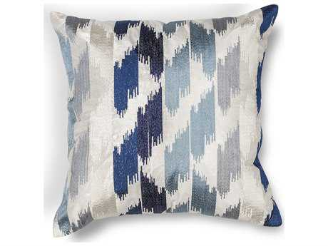 Kas Rugs Blue Square Pillow