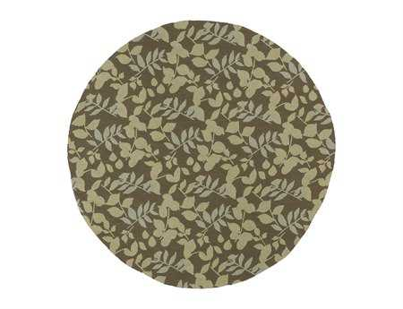 Kaleen Home & Porch Round Coffee Area Rug