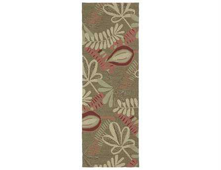 Kaleen Home & Porch Coffee Runner Rug