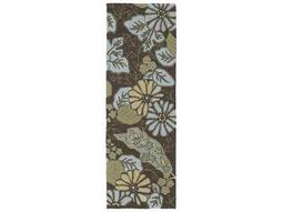 Kaleen Home & Porch Robin's Egg Runner Rug