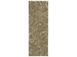 Kaleen Home & Porch Mocha Runner Rug