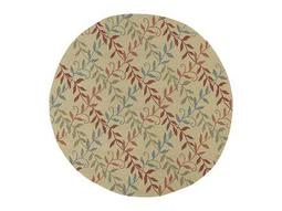 Kaleen Home & Porch Round Butterscotch Area Rug