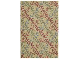 Kaleen Home & Porch Rectangular Butterscotch Area Rug