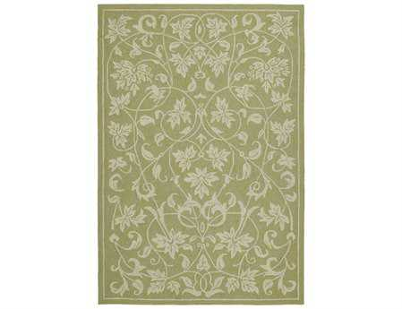 Kaleen Home & Porch Rectangular Celery Area Rug