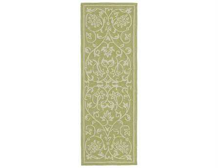 Kaleen Home & Porch Celery Runner Rug