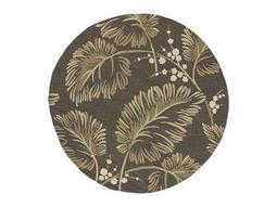 Kaleen Home & Porch Round Chocolate Area Rug