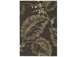 Kaleen Home & Porch Rectangular Chocolate Area Rug