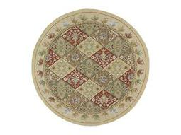 Kaleen Home & Porch Round Linen Area Rug
