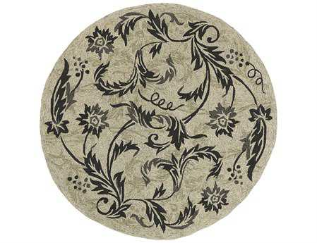 Kaleen Home & Porch Round Beige Area Rug