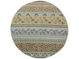 Kaleen Home & Porch Round Glacier Area Rug